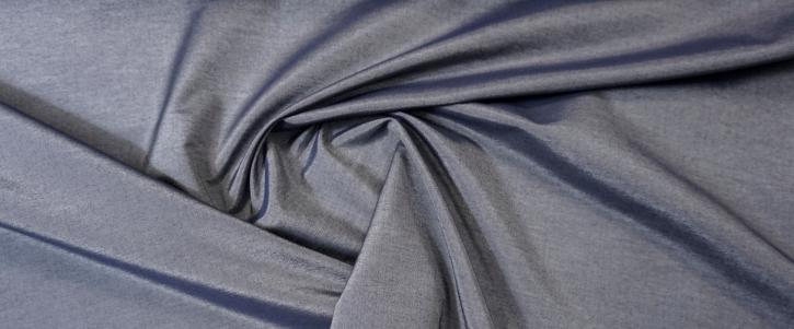 Baumwolle mit Seide - zweifarbig gewebt