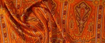 Seidenmischung - orientalisches Muster