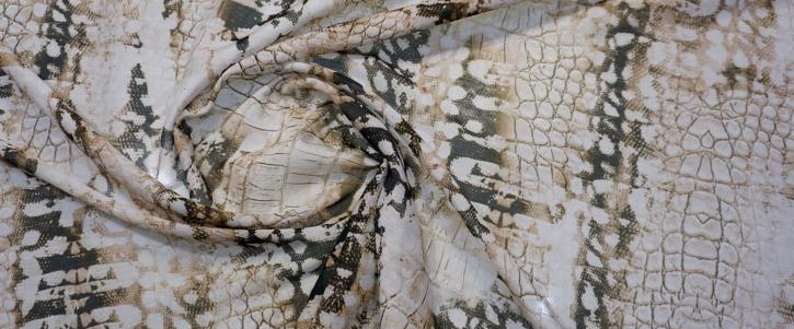 Baumwolle mit Seide - Snake