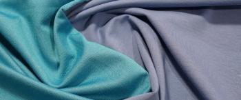 beidseitig verwendbarer Jersey - blau