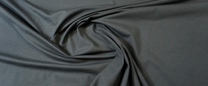 Baumwolljersey - dunkles blaugrau
