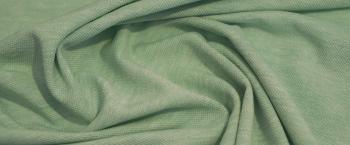 Pique-Jersey - hellgrün