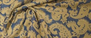 Paisley-Jacquard - Baumwollmischung