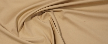 elastische Baumwollmischung - beige