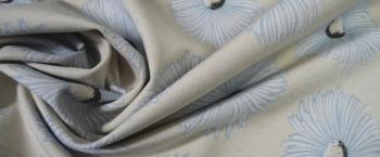 Baumwollmischung - Floralmotiv