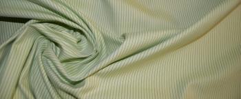 Baumwollmischung - Nadelstreifen