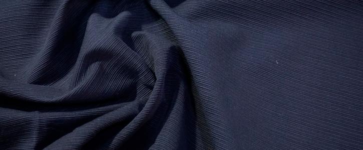 Baumwollrips - schwarz