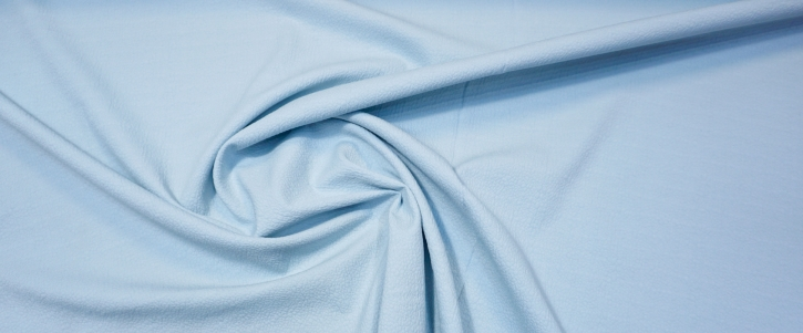 Baumwollmischung - eisblau