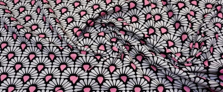 Baumwollmix - mehrfarbig gewebt