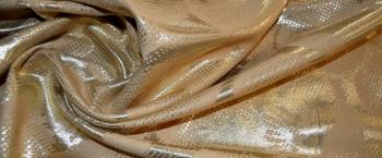 Baumwollmischung mit gold