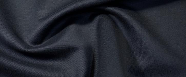 Baumwolle mit Leinen - schwarz