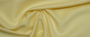 Baumwolle mit Leinen - hellgelb