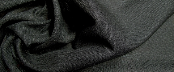 Mohairmischung, schwarz - Super 100