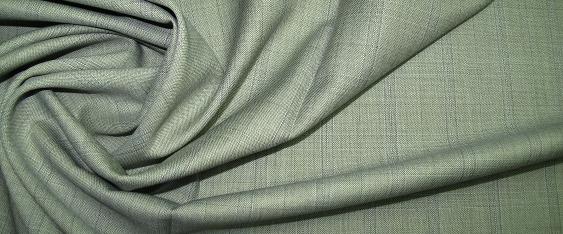 Super 120 - Schurwolle grau und blau
