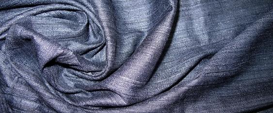 Seide, dunkles blau-grau