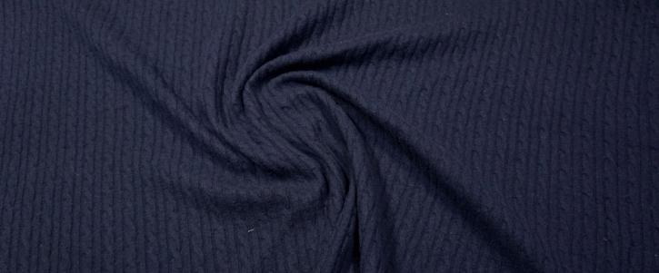 Merinojersey - dunkelblau
