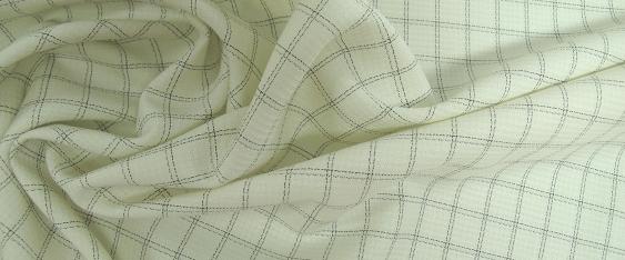 Schurwolle, grau in weiß