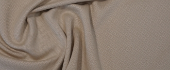 Baumwolle mit Kaschmir - hellbeige
