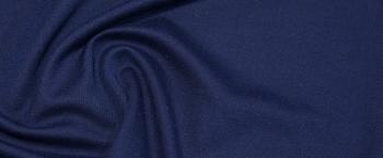 Baumwolle mit Kaschmir - dunkelblau