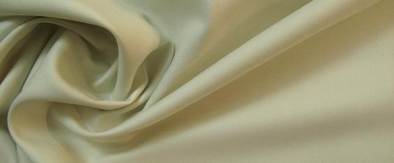 Schurwolle, satiniert - elfenbein