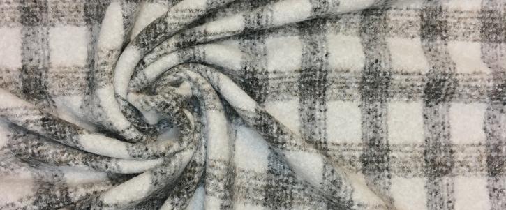 Alpakamischung - braun-grau