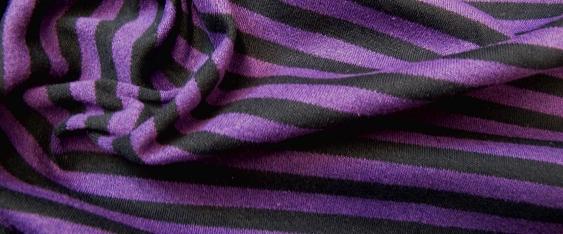 Jersey - lila und schwarz