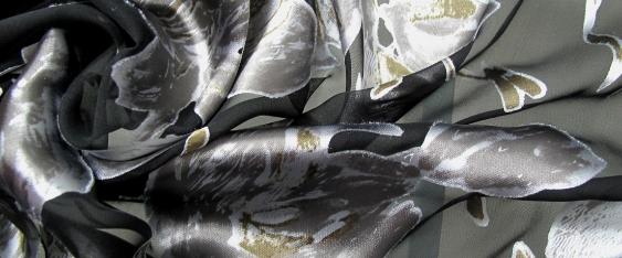 Ausbrenner - silber und gold auf schwarz