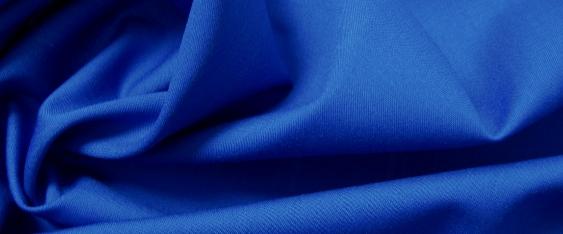 Tela Vaticana - königsblau