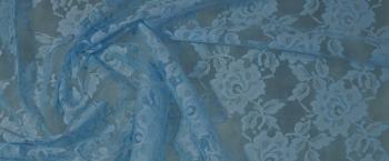 Spitze - hellblau