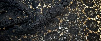 Rest Spachtelspitze - schwarz