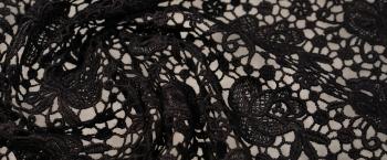 Spachtelspitze - schwarz