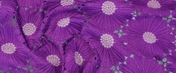 Blütenspitze - lila