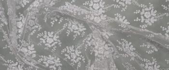 florale Spitze - weiß