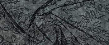 filigrane Spitze - schwarz