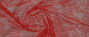 filigrane Spitze - rot