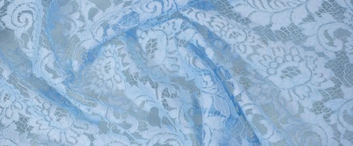 Spitze - pastellblau