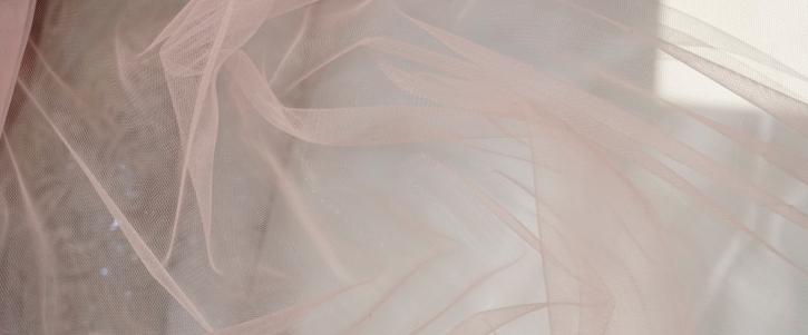 Tüll - nude, 3m breit