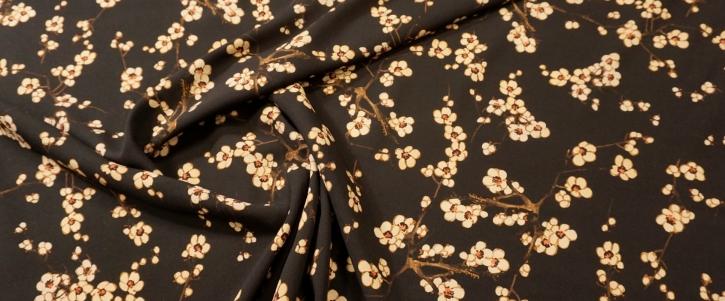 Viskose - Blüten und Äste