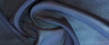 Viskosecrepe - dunkelblau