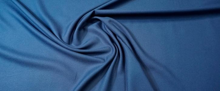 Viskosecrepe - jeansblau