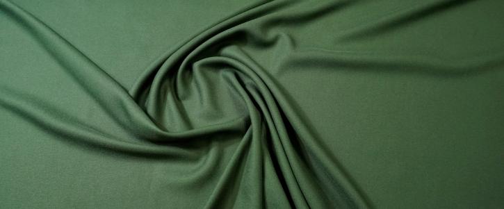 Viskosecrepe - moosgrün