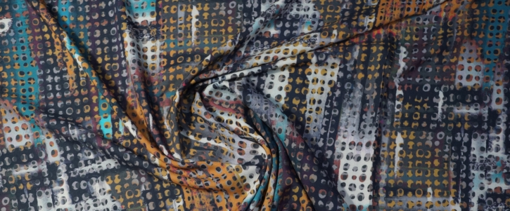 Viskose - buntes Muster