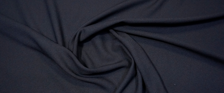 Viskosecrepe - schwarz