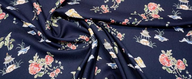 Moschino - Kraniche und Blumen