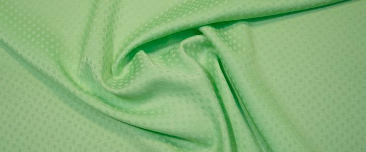 Viskosejacquard - apfelgrün