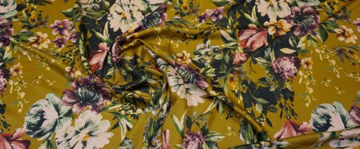 Viskose - Blumen auf schilf
