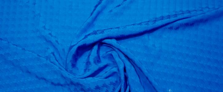 Viskosejacquard - königsblau