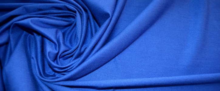 Viskosejersey - königsblau