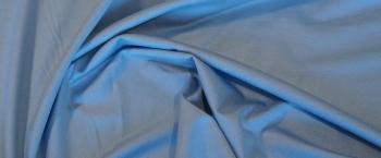 Viskosejersey - himmelblau