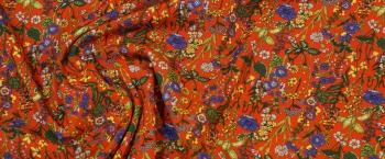 Viskosestretch - Wildblumen